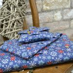 Navy Snowflake – Christmas Wrapping Paper