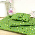Green Spotty Wrap