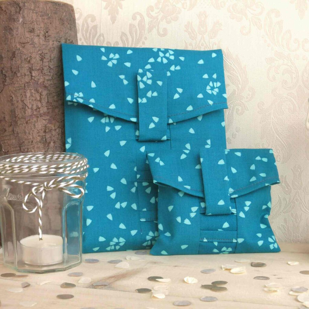 Turquoise Eco Wrapping Paper