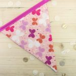 Pink Bunting – Butterfly