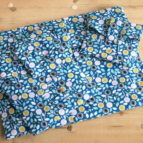 Blue Floral – Gift Wrap Bag