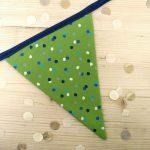 Green Spotty Bunting