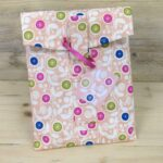 Peach Floral Gift Tags (pack of 10)