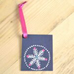 Silver Snowflake Gift Tags (pack of 10)