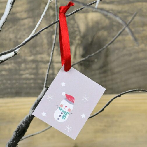 Snowman Gift Tags (pack of 10)